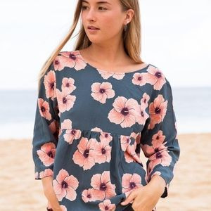 Acacia Swimwear Hibiscus Munich Top
